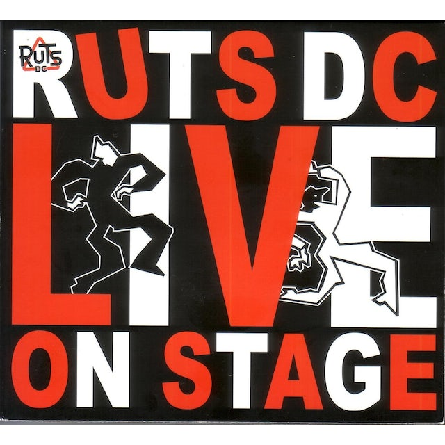 Ruts Dc LIVE ON STAGE CD