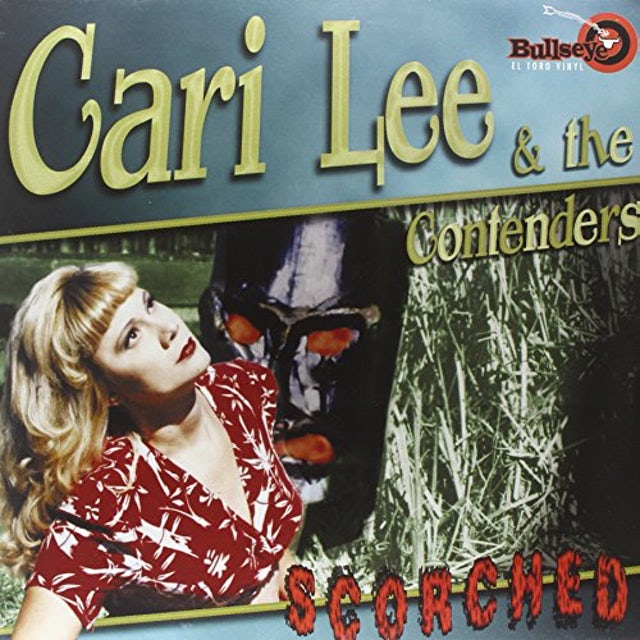 Cari Lee And The Contenders SCORCHED Vinyl Record