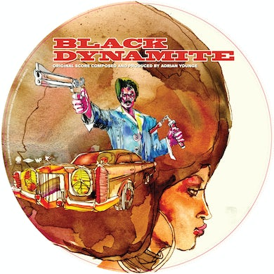 Adrian Younge SCORE: PICTURE DISC Vinyl Record