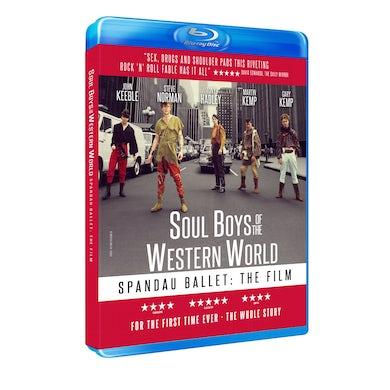 Spandau Ballet SOUL BOYS OF THE WESTERN WORLD Blu-ray