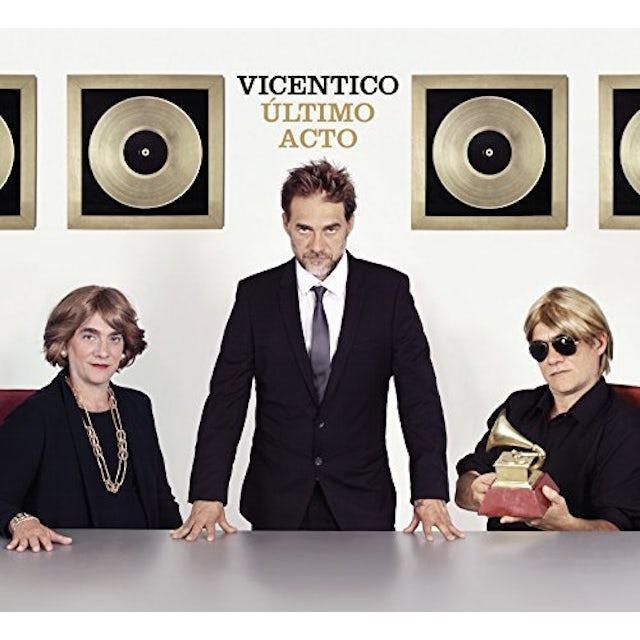 Vicentico ULTIMO ACTO CD