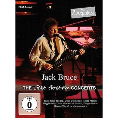 Jack Bruce ROCKPALAST: 50TH BIRTHDAY CONCERTS DVD