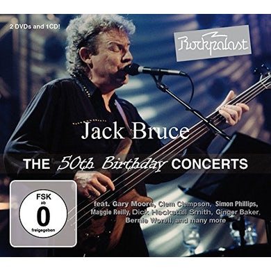 Jack Bruce ROCKPALAST: THE 50TH BIRTHDAY CONCERTS CD
