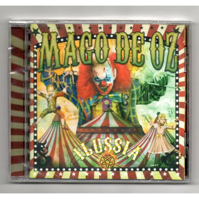 Mago De Oz ILLUSIA CD