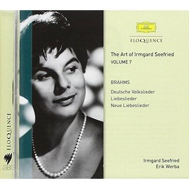 Irmgard Seefried SEEFRIED & FRIENDS SING BRAHMS 7 CD