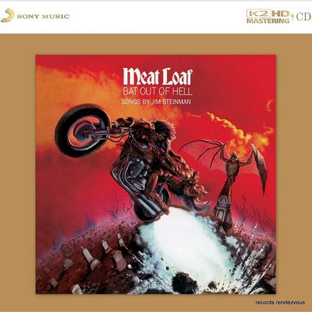 Meat Loaf BAT OUT OF HELL: K2HD MASTERING CD