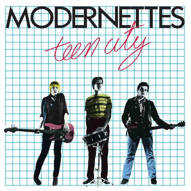 MODERNETTES TEEN CITY-35TH ANNIVERSARY CD