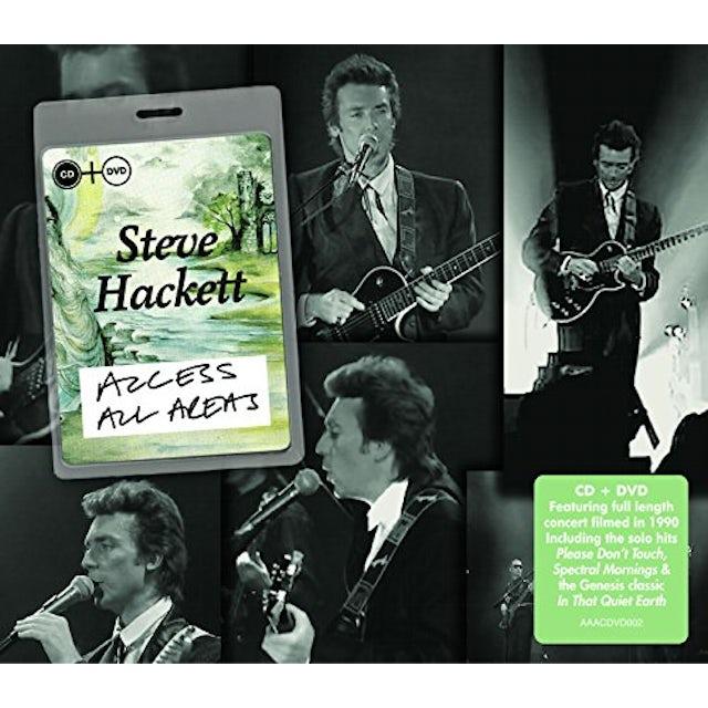 Steve Hackett ACCESS ALL AREAS CD