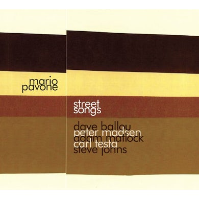 Mario Pavone STREET SONGS CD