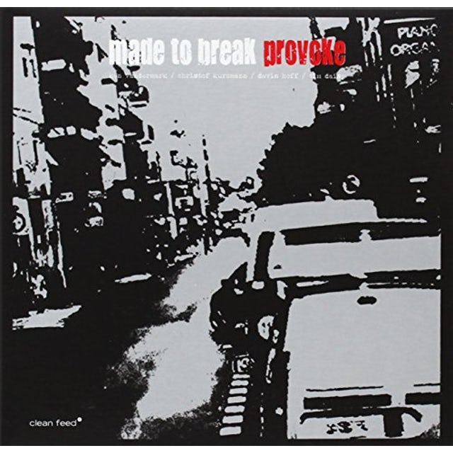 Ken Vandermark MADE TO BREAK-PROVOKE CD