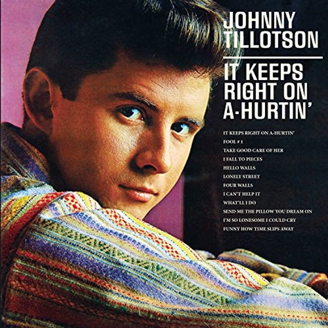 Johnny Tillotson IT KEEPS RIGHT ON A-HURTIN CD