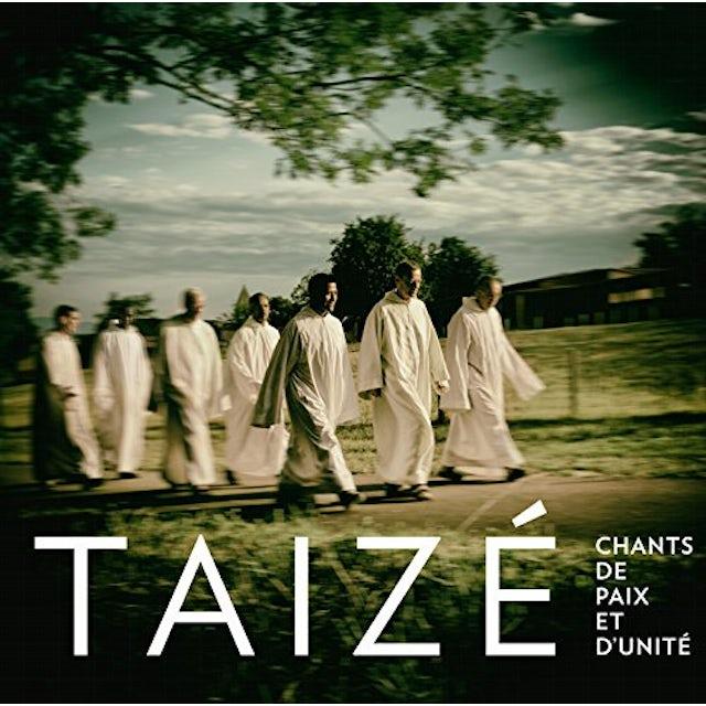 Taize CHANTS DE PAIX ET D'UNITE CD