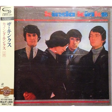 KINDA The Kinks Vinyl Record