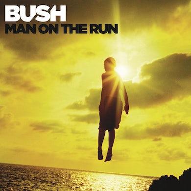 Bush MAN ON THE RUN Vinyl Record