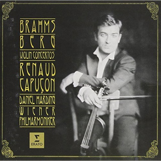 Renaud Capucon BRAHMS & BERG: VIOLIN CONCERTOS CD