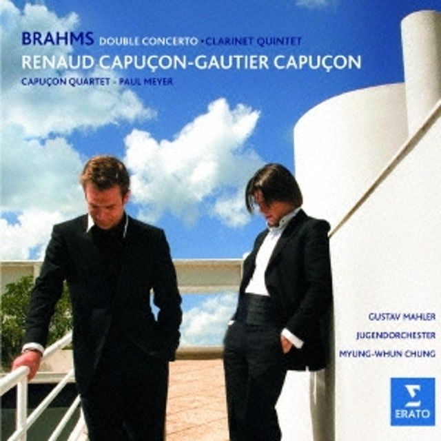 Renaud Capucon BRAHMS: DOUBLE CONCERTO & CLARINET CD