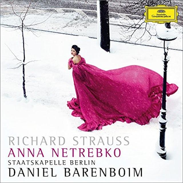 Anna Netrebko RICHARD STRAUSS: 4 LAST SONGS CD