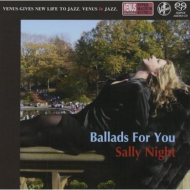 Sally Night BALLAD FOR YOU Super Audio CD