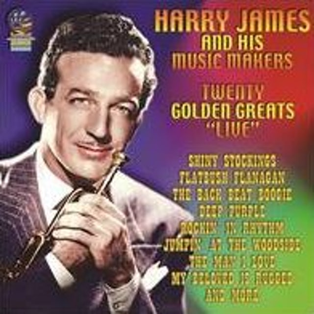 Harry James 20 GOLDEN GREATS - LIVE CD