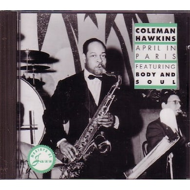 Coleman Hawkins APRIL IN PARIS CD