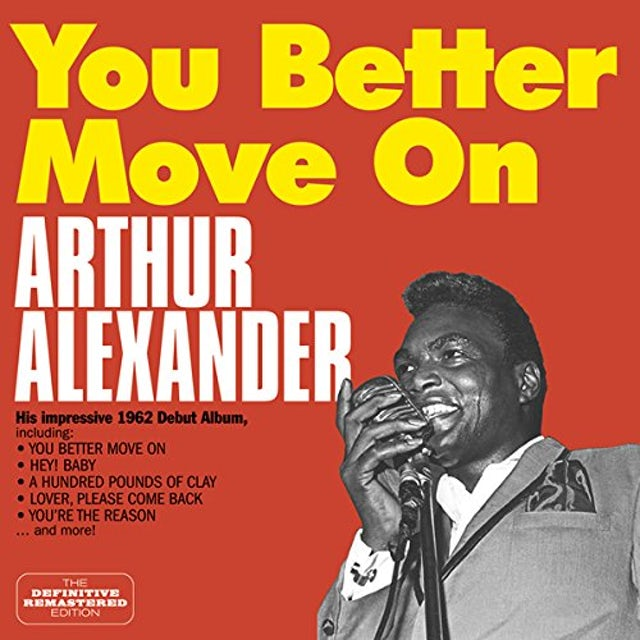 Arthur Alexander YOU BETTER MOVE ON CD