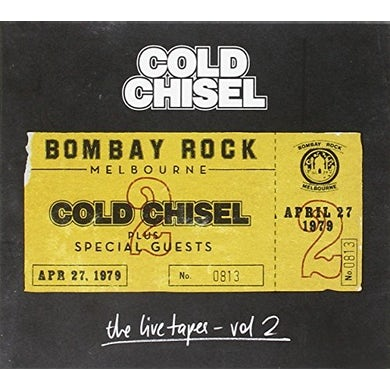 Cold Chisel LIVE TAPES 2: LIVE AT BOMBAY ROCK APRIL 27 1979 CD