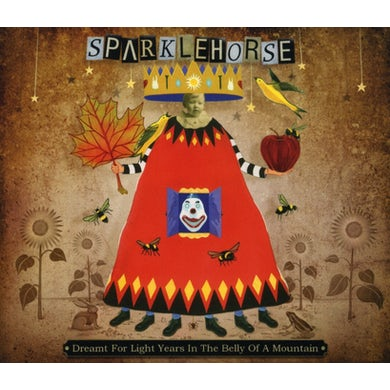 Sparklehorse DREAMT FOR LIGHT YEARS IN THE BELLY OF A MOUNTAIN CD