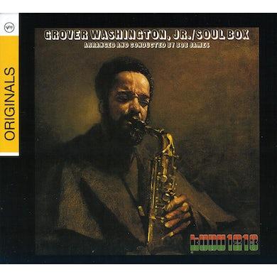 Grover Washington Jr SOUL BOX CD