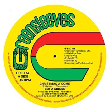 Eek-A-Mouse CHRISTMAS-A-COME Vinyl Record
