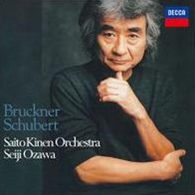 Seiji Ozawa SCHUBERT: SYMPHONY NO. 9. BRUCKNER CD