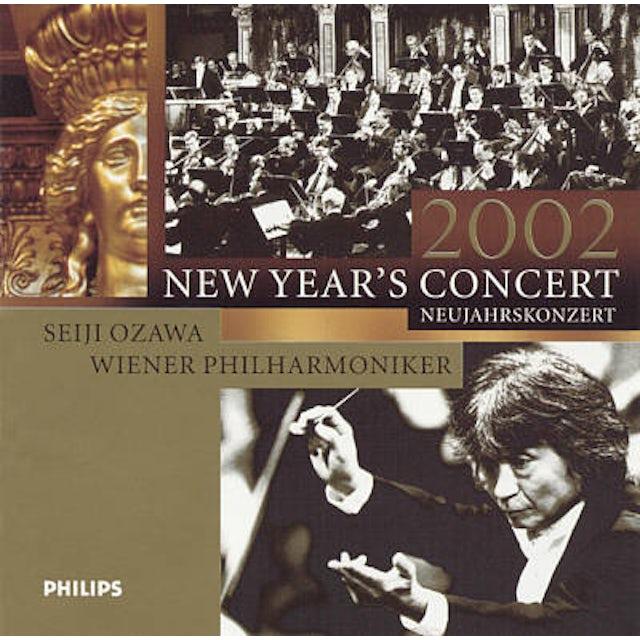 Seiji Ozawa NEW YEAR'S CONCERT 2002 CD