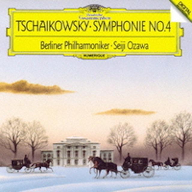 Seiji Ozawa TCHAIKOVSKY: SYMPHONIES NOS. 4-6 CD