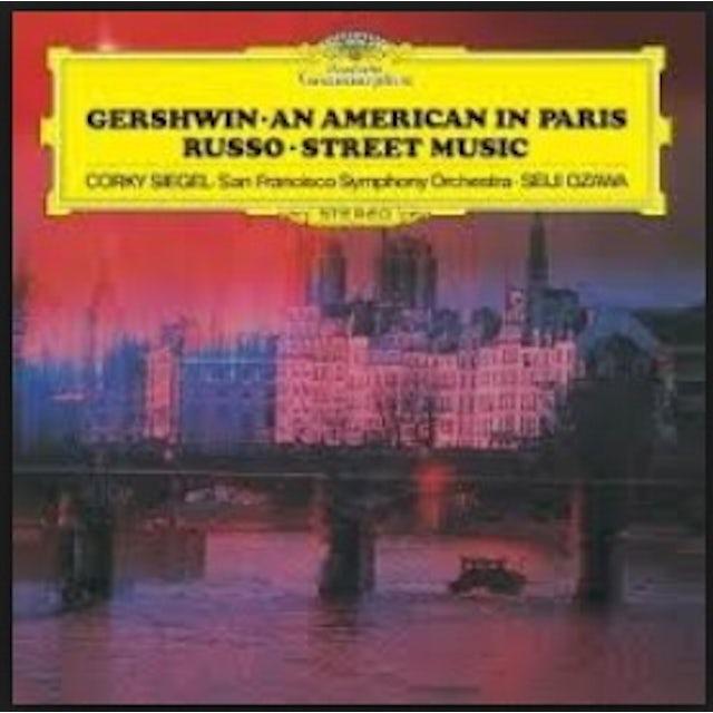 Seiji Ozawa GERSHWIN RUSSO BERNSTEIN IVES CD