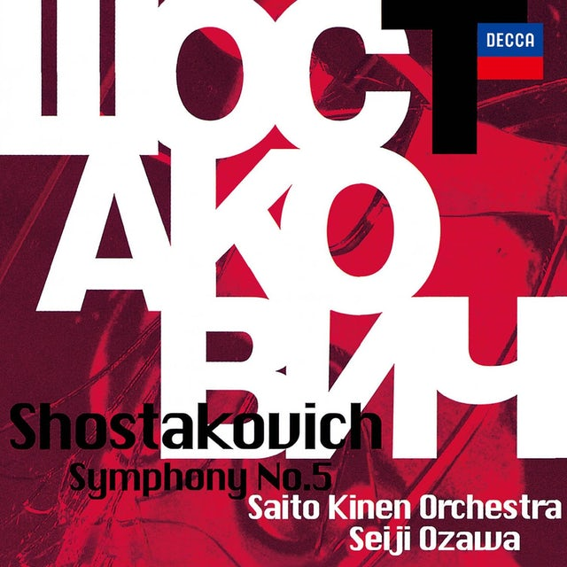Seiji Ozawa SHOSTAKOVICH: SYMPHONY NO. 5 CD