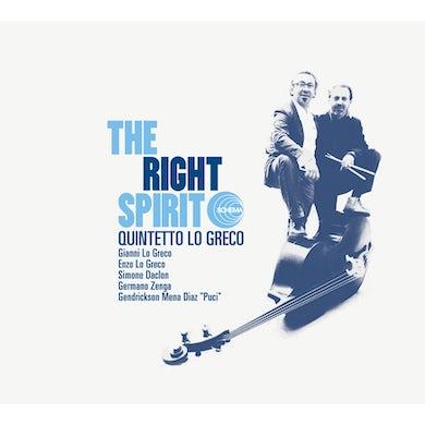 RIGHT SPIRIT CD