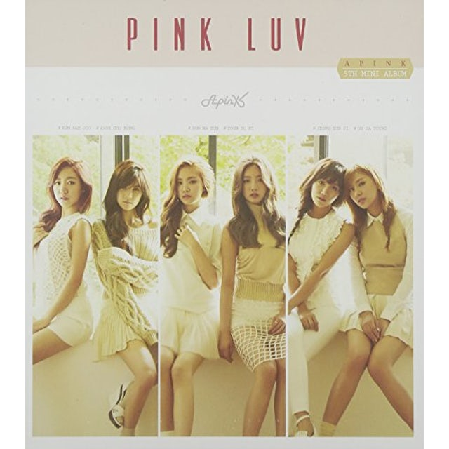 Apink PINK LUV (MINI ALBUM) CD