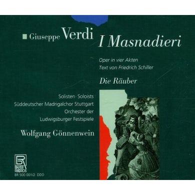 Verdi I MASNADIERI / DIE RAUBER (OPERA) CD