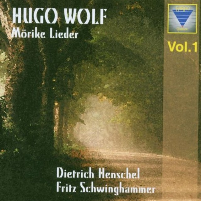 Wolf MOERIKE-LIEDER 1 CD