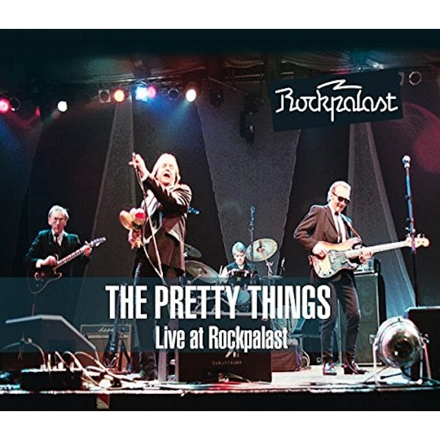 The Pretty Things LIVE AT ROCKPALAST CD