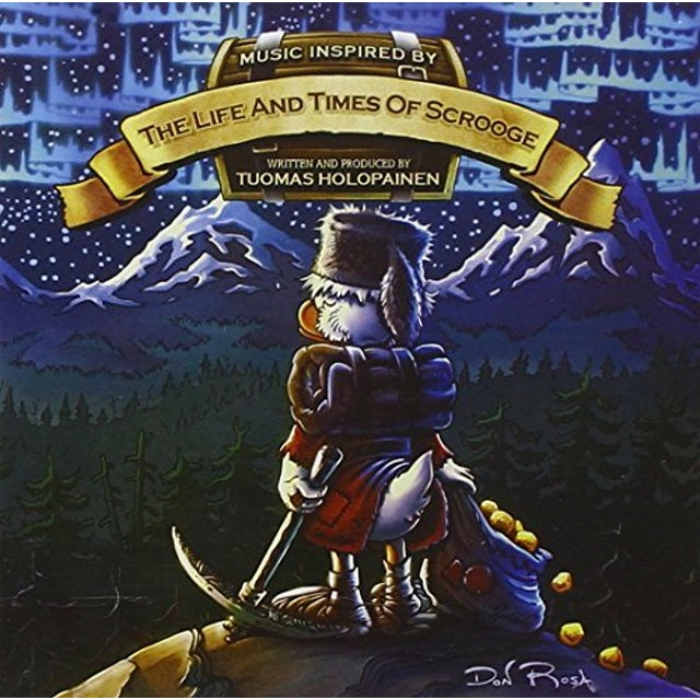 Tuomas Holopainen LIFE & TIMES OF SCROOGEE CD