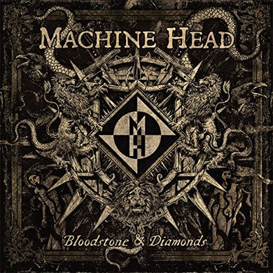 Machine Head BLOODSTONE & DIAMONDS: PICTURE DISC Vinyl Record