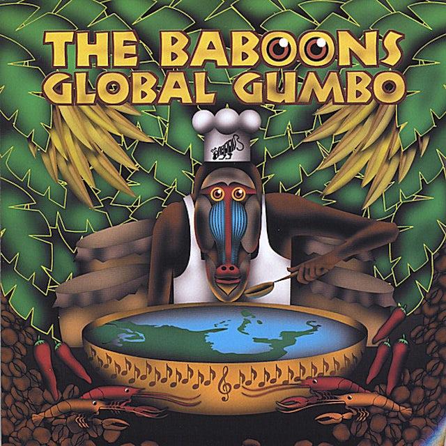 Baboons GLOBAL GUMBO CD