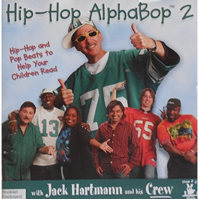 Jack Hartmann HIP-HOP ALPHABOP 2 CD