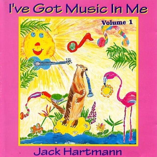 Jack Hartmann I'VE GOT MUSIC IN ME CD