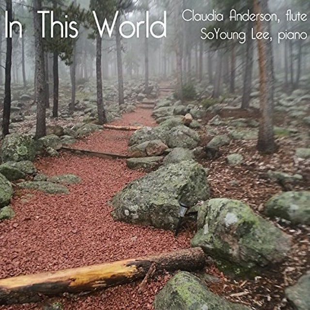 Claudia Anderson IN THIS WORLD CD