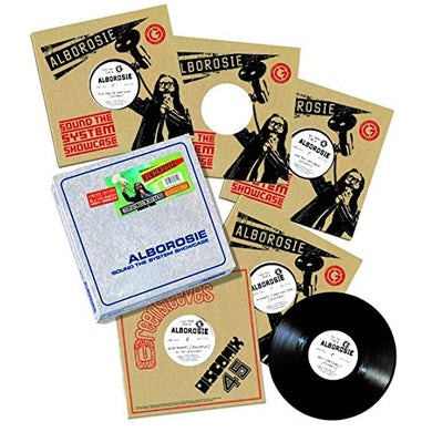 Alborosie SOUND THE SYSTEM SHOWCASE Vinyl Record