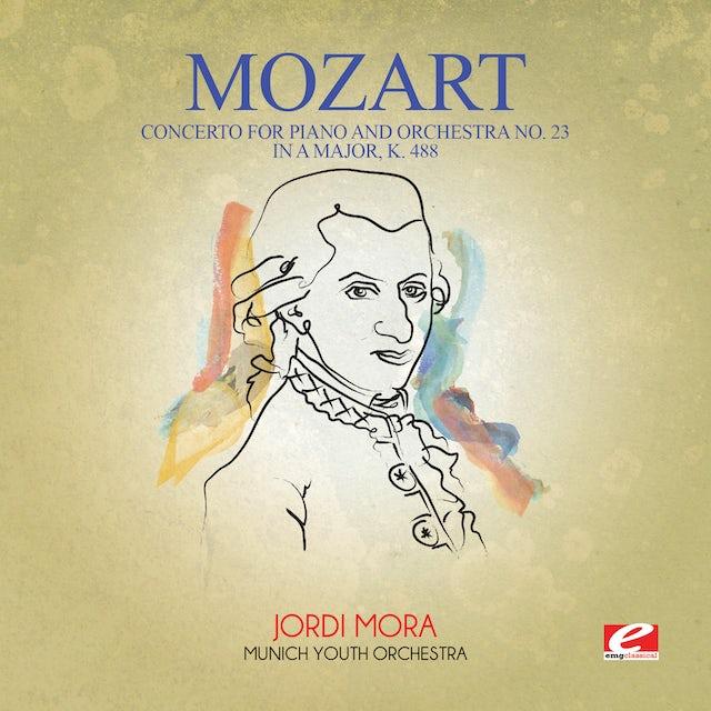 Mozart CONCERTO FOR PIANO & ORCHESTRA NO. 23 IN A MAJOR K CD