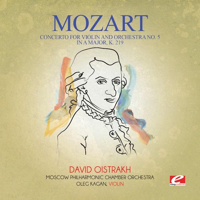 Mozart CONCERTO FOR VIOLIN & ORCHESTRA NO. 5 IN A MAJOR K CD