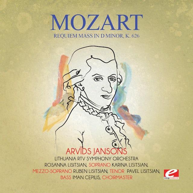 Mozart REQUIEM MASS IN D MINOR K. 626 CD
