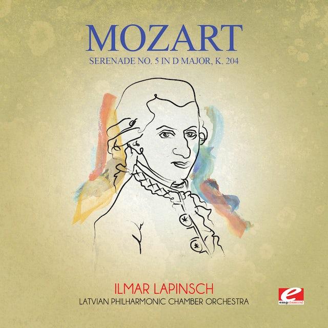 Mozart SERENADE NO. 5 IN D MAJOR K. 204 CD